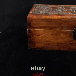 12 personal collection Chinese old Huanghuali Home and everything jewelry Box
