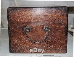18 Huanghuali Wood Chinese Container Jewelry Storage Chest Box Simple Design