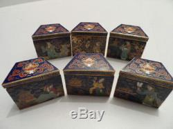 20th Century Chinese Cloisonne Jewellery Box by Peking Jewelry