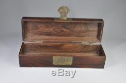 7797 old Chinese Qing Dynasty Huanghua pear Jewelry box collection