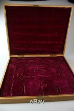 ANTIQUE 19th CENTURY EXPORT WEAR CHINESE HAND MADE WOOD JEWELLERY BOX