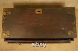 Antique Chinese Document Jewelry Box Trunk