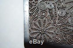Antique Chinese Export Hallmarked sterling silver Jewelry Boxes China