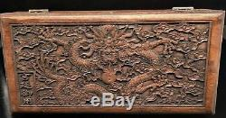 Chinese Antique Qing Dynasty Palace Collection Jade Bracelet jewelry + Box