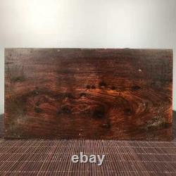 Chinese Natural Rosewood Hand carved Exquisite Jewelry Box 3098
