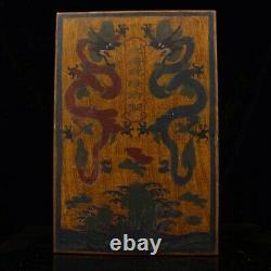 Chinese Qing Dynasty Emperor palace Collection Turquoise necklace + Box