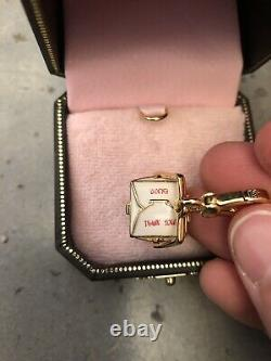 Juicy Couture Collectible CHINESE TAKEOUT BOX BRACELET CHARM YJRU1830 NEW