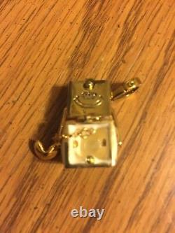 NEW JUICY COUTURE Collectible Gold Chinese TAKEOUT BOX CHARM
